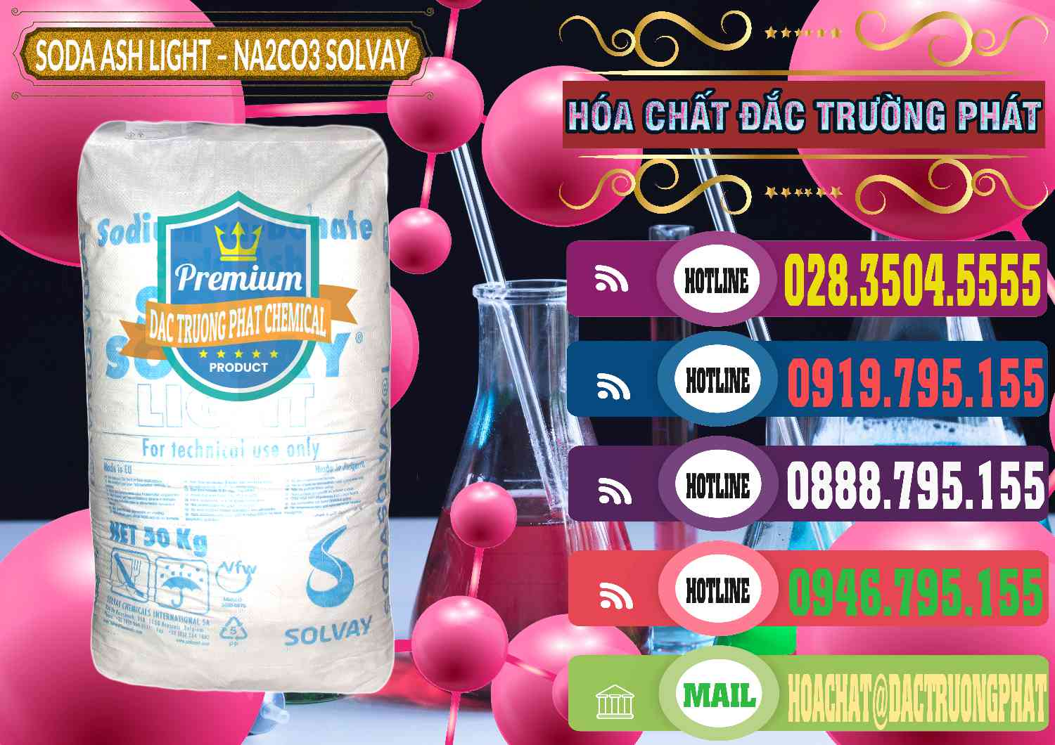 Công ty kinh doanh _ bán Soda Ash Light - NA2CO3 Solvay Bulgaria – 0138 - Chuyên phân phối và kinh doanh hóa chất tại TP.HCM